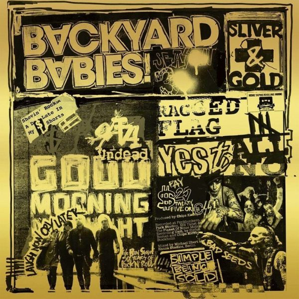 Backyard Babies - Silver and Gold album cover