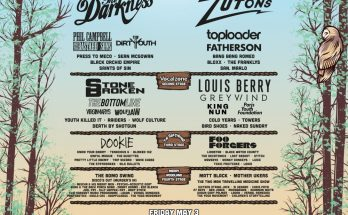 Teddy Rocks Festival Final Line Up Poster