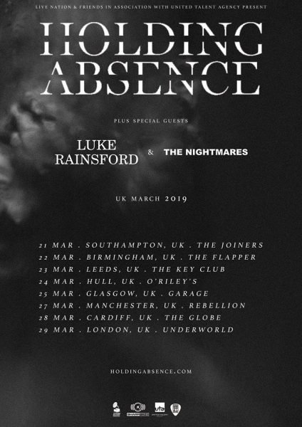 Holding Absence poster