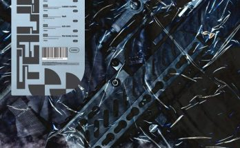 Alpha Wolf's EP Fault cover picture. The picture is difficult to make out but looks like plastic stretched over a some knives and tools. Perhaps an evidence bag?