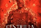 Image of the cover art for Centrilia's album In The Name Of Nothing. The cover shows a man in a shirt and tie, with bandages wrapped around his head. His hands wear leather gloves and hold an old looking book covered in magic type symbols. The man is on fire and disintegrating.