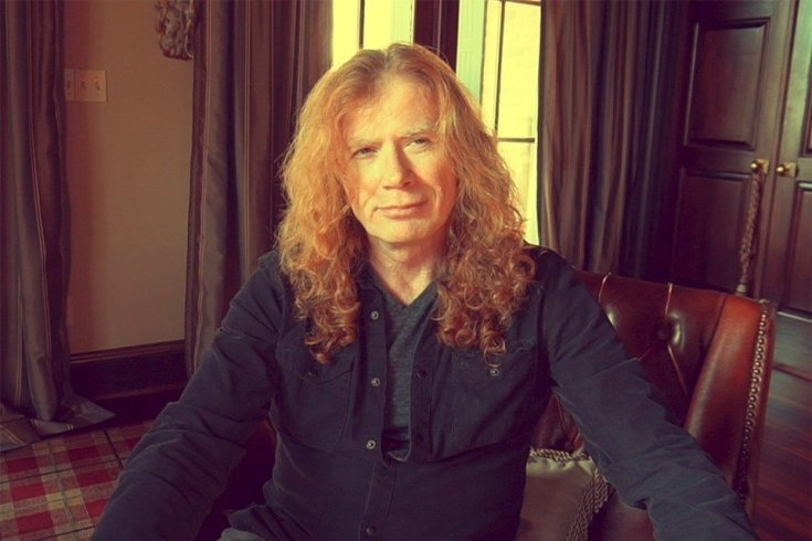 Dave Mustaine of Megadeth photo