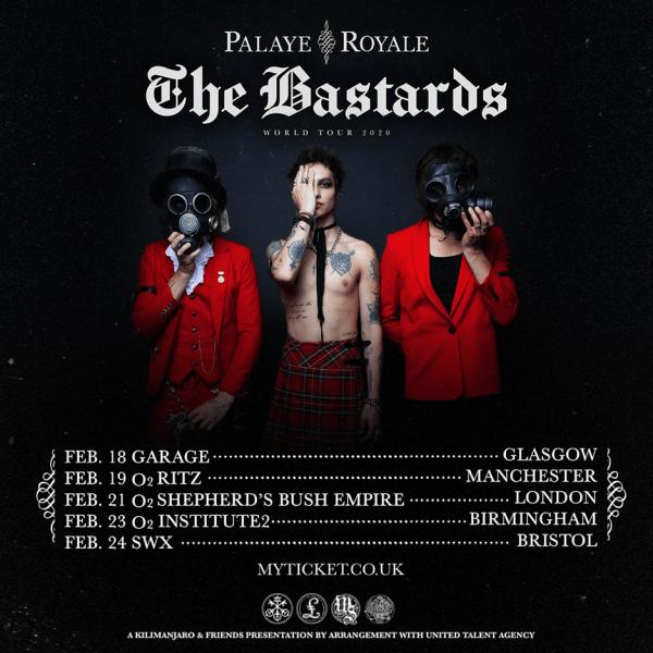 Palaye Royale Tour Poster 2020
