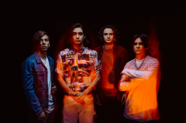 The Faim Band Photo, Multi-Coloured, Blurred Image, Sunburst, Orange