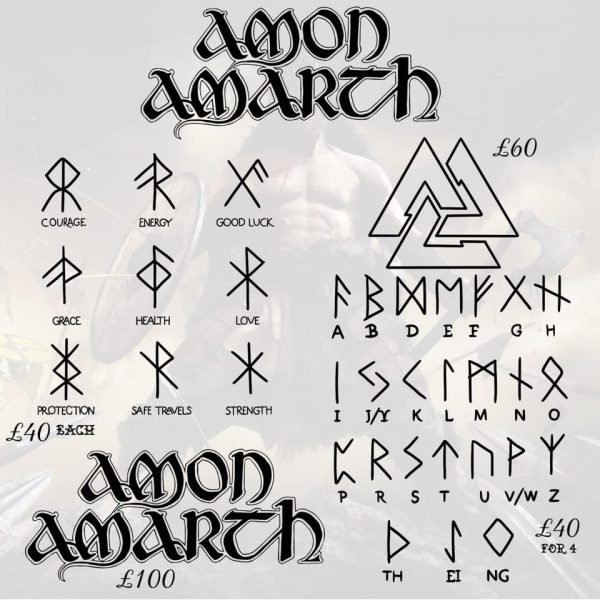 Amon Amarth tattoo 5