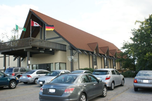 This German cultural community center in Ontario asked Metal Roof Outlet for a rusty brown steel shingle to refresh the building's façade.