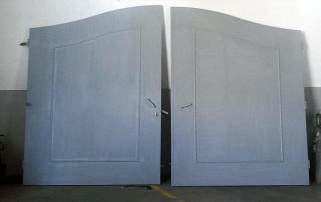 portão para pavilhão