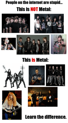 metal infighting
