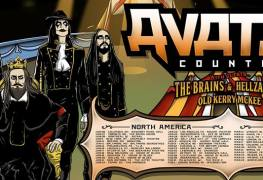 Avatar NA Europe Tour - GIG REVIEW: Avatar, The Brains & Hellzapoppin Live at Opera House, Toronto