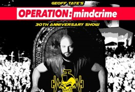 Operation Mindcrime - GIG REVIEW: GEOFF TATE's Operation Mindcrime 30th Anniversary Tour Live at The Robin 2, Wolverhampton