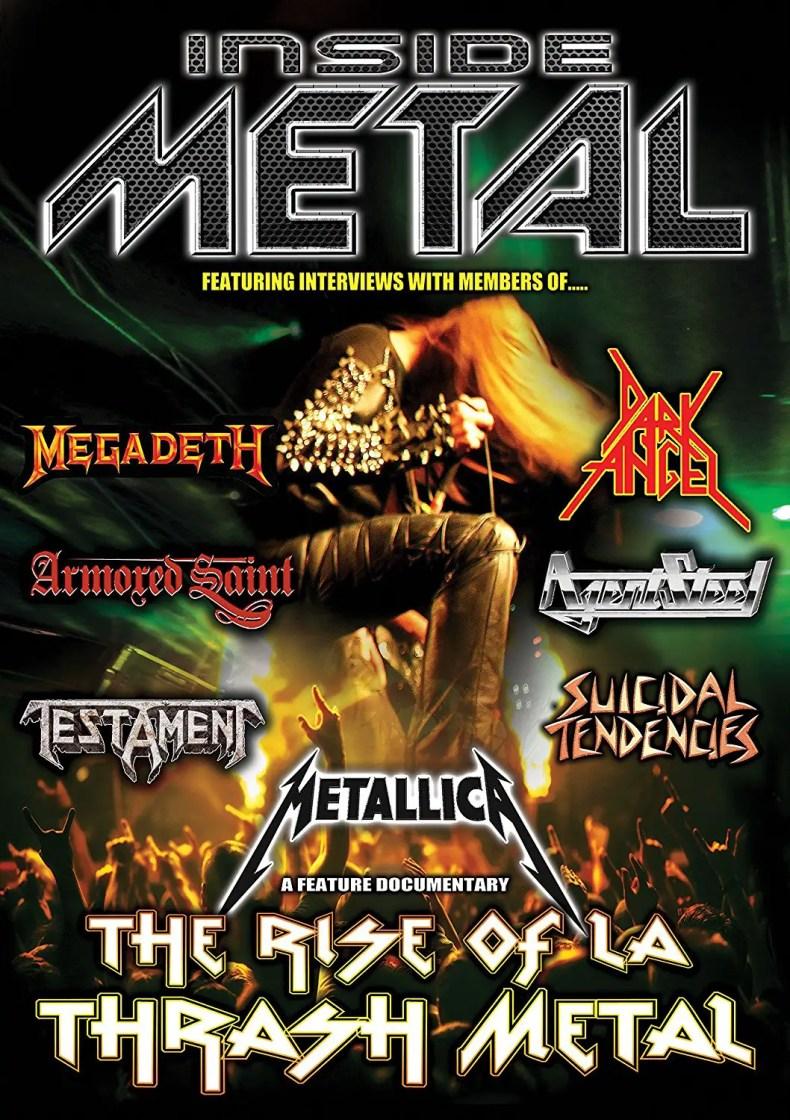 the rise of la thrash - DVD REVIEW: Inside Metal: The Rise Of L.A Thrash Metal - Part One