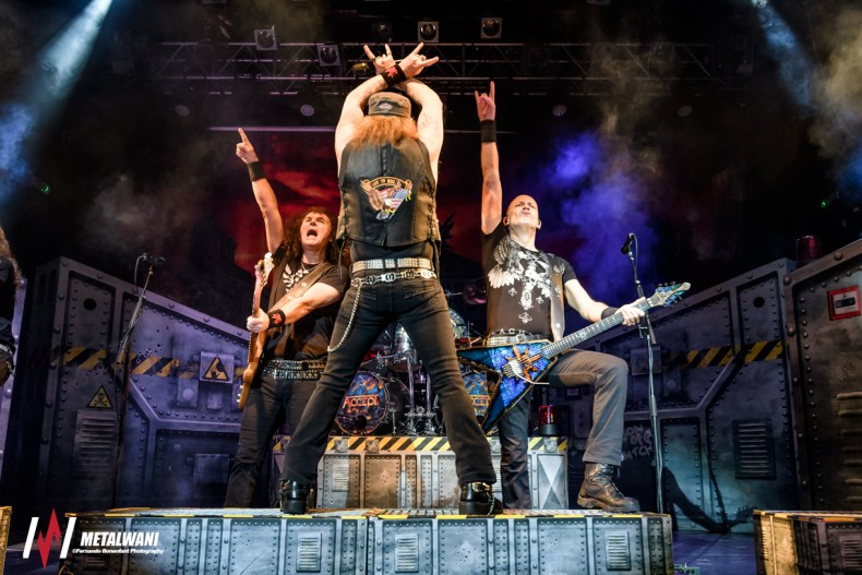 ACCEPT 7 - GALLERY: Accept & Night Demon Live at Koko, London