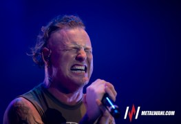 Corey Taylor - GALLERY: Stone Sour & Halestorm Live at Eastern Michigan University, Ypsilanti