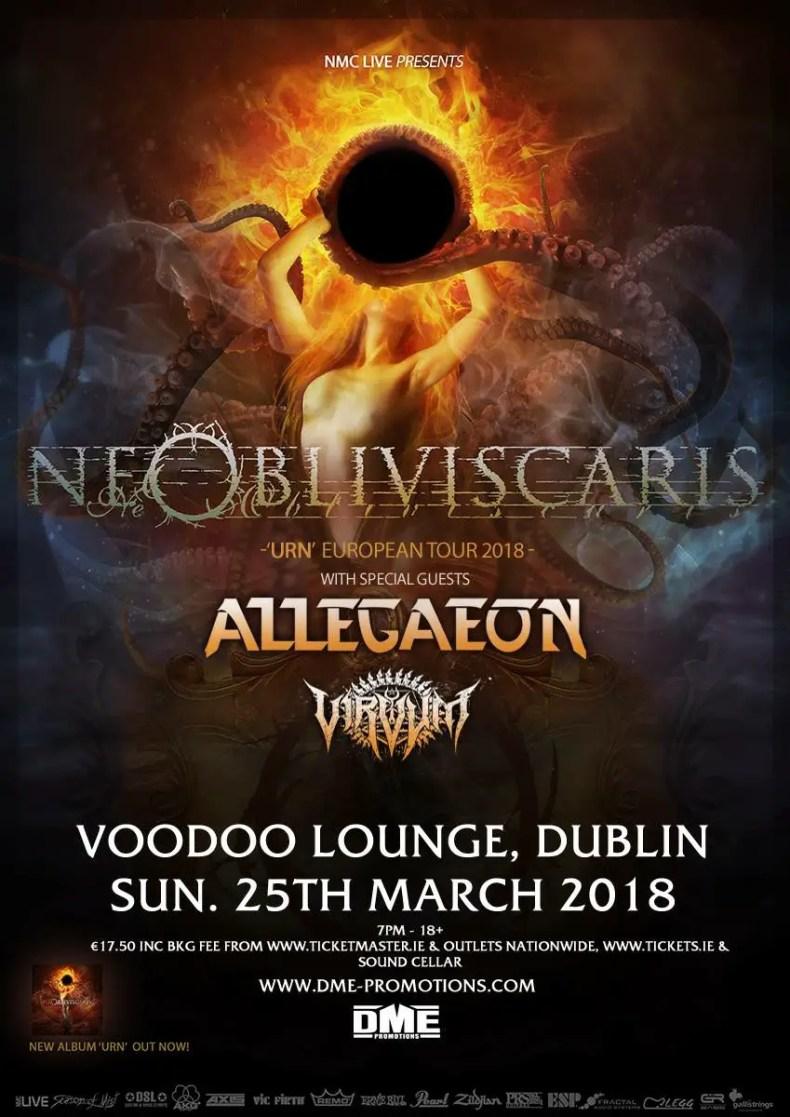 IMG 3780 - GIG REVIEW: Ne Obliviscaris, Allegaeon & Virvum Live at The Voodoo Lounge, Dublin