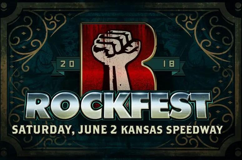 Rockfest banner - FESTIVAL REPORT: ROCKFEST Announces Lineup For 2018 Edition; Will Return To Kansas Speedway