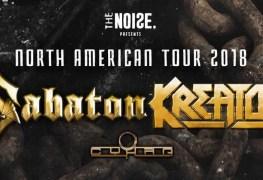 Sabaton Kreator Cyhra 2 - GIG REVIEW: Sabaton, Kreator & Cyhra Live at Buckhead Theater, Atlanta