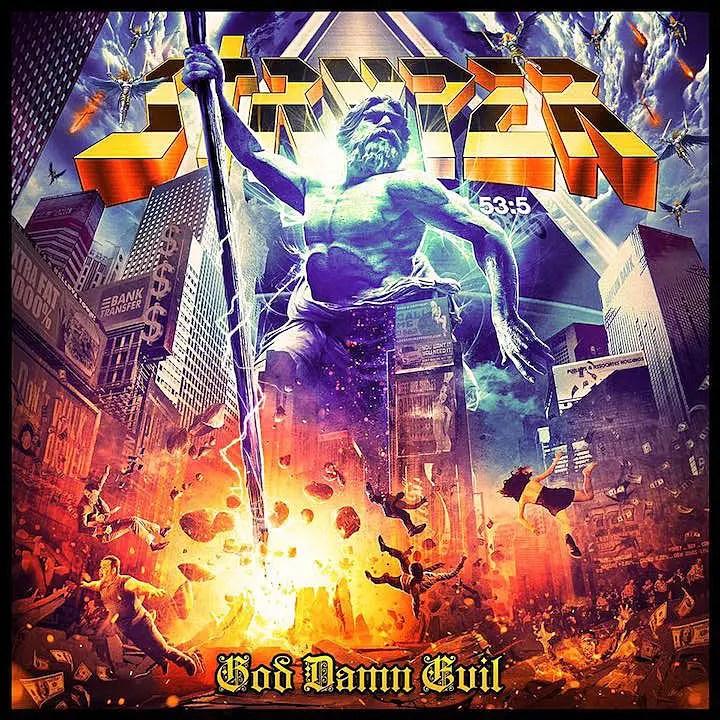 """Stryper God Damn Evil - REVIEW: STRYPER - """"God Damn Evil"""""""