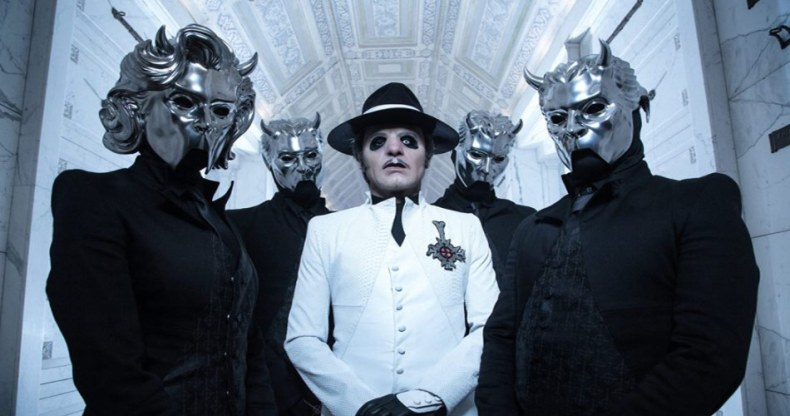 Ghost 2018 - Ex-GHOST Members' Lawsuit Against Tobias Forge Has Been Dismissed, Musicians Ordered to Pay $146,000 in Legal Fees