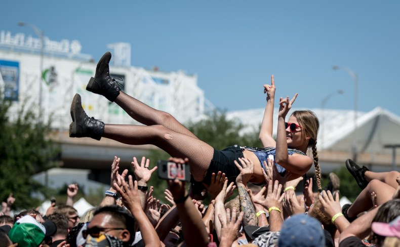 CROWD SHOT 12 - It's Official: Music Lovers Stop Discovering New Music At The Age of 30