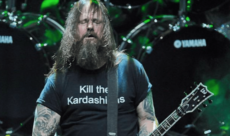 Gary Holt - SLAYER Guitarist Explains Why He Wears 'Kill the Kardashians' T-Shirt During Live Shows