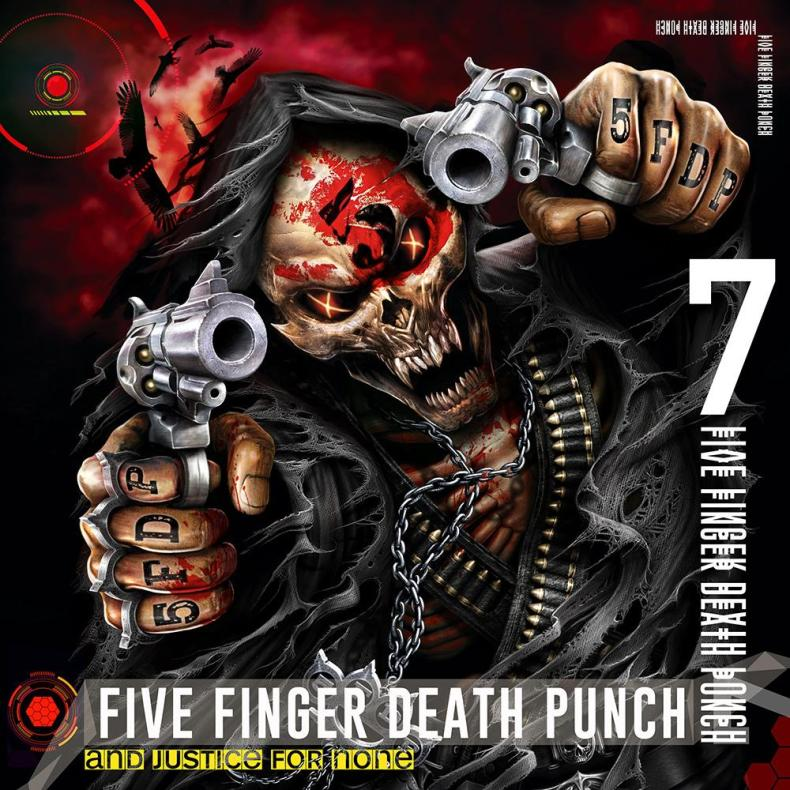 """Justice - REVIEW: FIVE FINGER DEATH PUNCH - """"And Justice for None"""""""