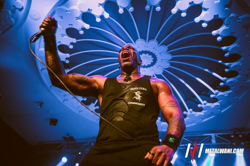 Sepultura 11 - GIG REVIEW: Sepultura, Death Angel & From Crisis To Collapse Live at Eaton's Hill Hotel, Brisbane