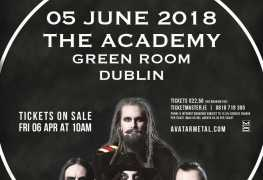 Avatar - GIG REVIEW: Avatar & Ded Live at The Academy Green Room, Dublin