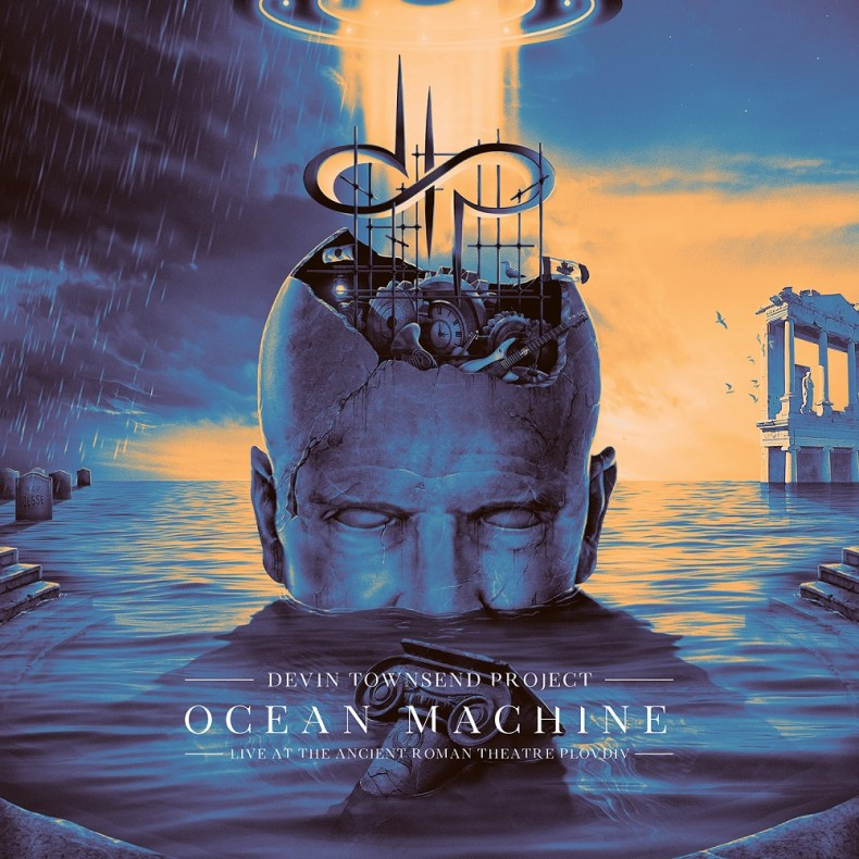 Ocean Machine - DVD REVIEW: DEVIN TOWNSEND PROJECT – Ocean Machine – Live At The Ancient Roman Theatre, Plovdiv