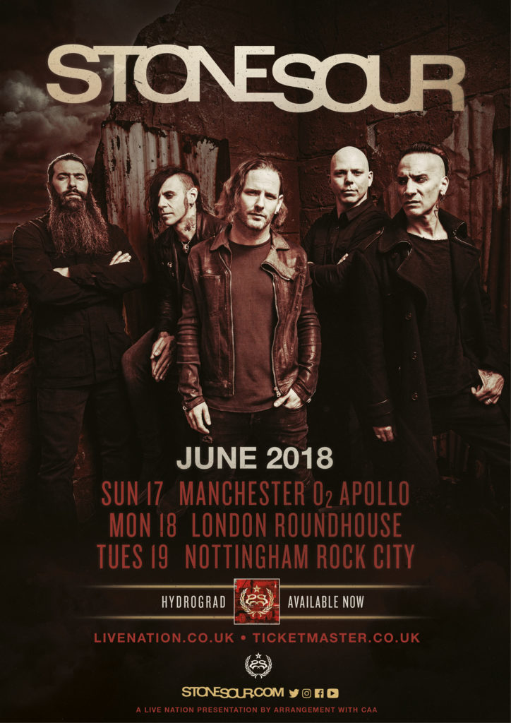 SS - GIG REVIEW: Stone Sour & Blood Youth Live at Nottingham Rock City, UK