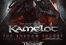 Kamelot 2018 - TOUR: KAMELOT Announce Australian Tour With Special Guests VALHALORE