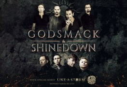 Shine Smack - GIG REVIEW: Godsmack, Shinedown & Like A Storm Live at Darien Lake, NY