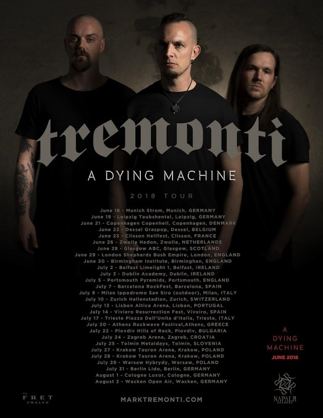 Tremonti - GIG REVIEW: Tremonti & The Fallen State Live at O2Shepherd's Bush Empire, London