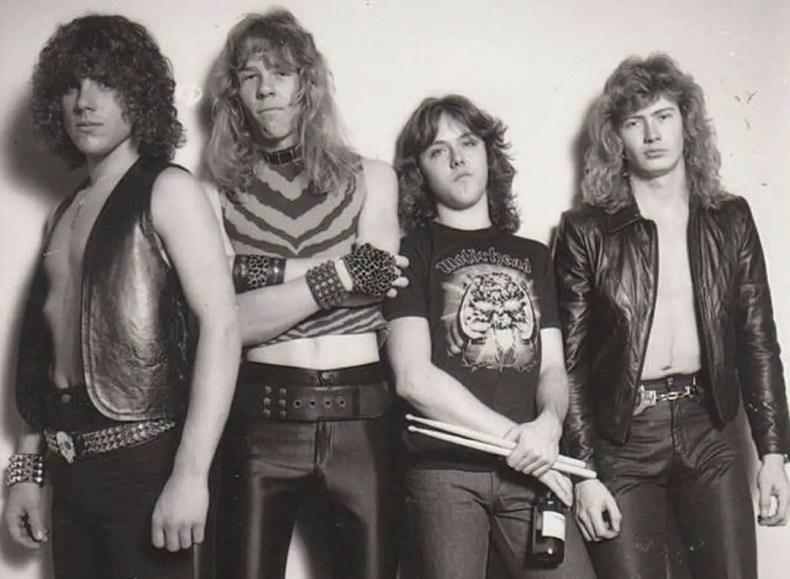 metallica earlydays - Original METALLICA Bassist Ron McGovney Explains Why James & Lars Put Up With Dave Mustaine's Asshole Behavior