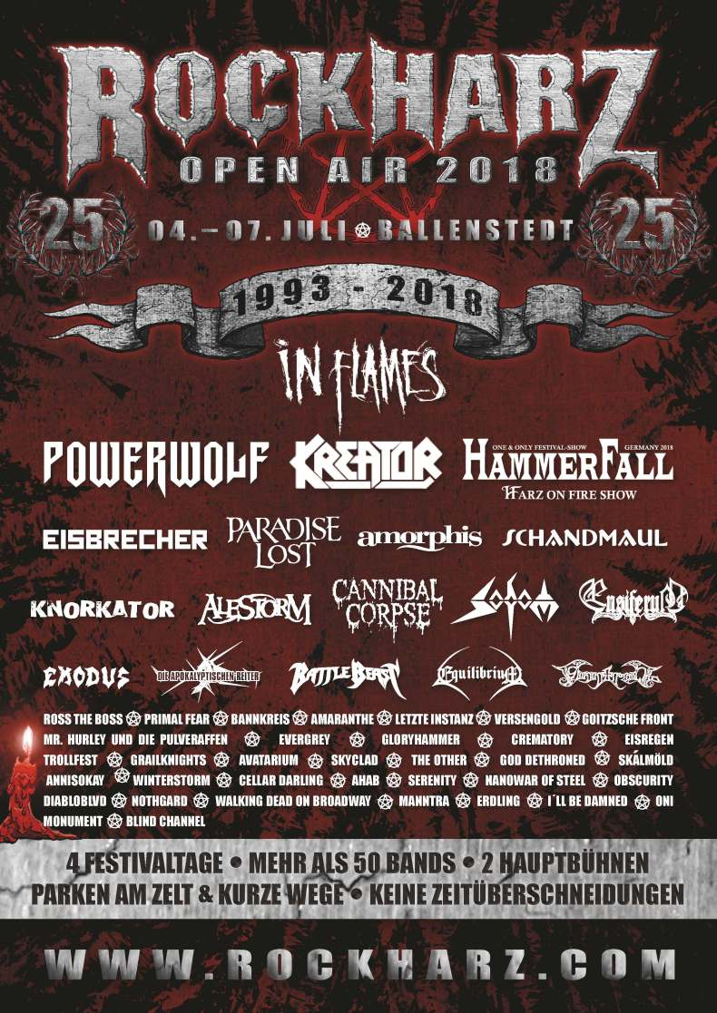 rockharz 2018 - FESTIVAL REVIEW: ROCKHARZ OPEN AIR 2018 Live at Ballenstedt, Germany – Day 3 (Friday)
