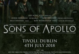 sonsofapollo - GIG REVIEW: An Evening With SONS OF APPOLO & JAY WUD Live at the Tivoli Theater, Dublin