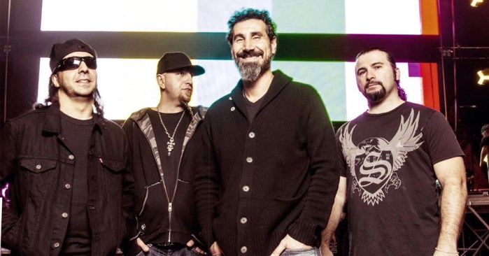 system of a down - SYSTEM OF A DOWN Guitarist Says SERJ TANKIAN Didn't Even Want To Make 'Mezmerize' & 'Hypnotize'