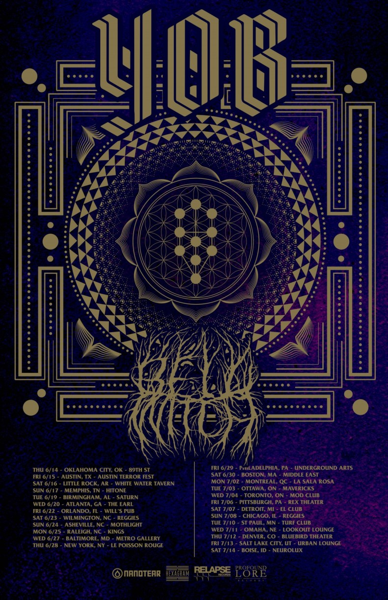 yob tour 2018 - GIG REVIEW: Yob, Sea of Bones, Black Pyramid Live at The Middle East Downstairs, Cambridge, MA