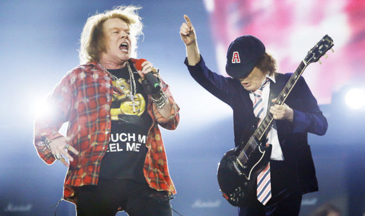 ACDC Axl Rose - Alan Niven Still Condemns Axl Rose for Performing Under Devil Horns With AC/DC, Seemingly Calls Angus Young 'Dumbass Australian Little Hobgoblin'