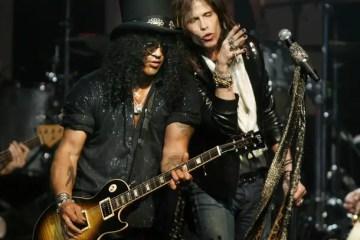 "Aerosmith Slash - AEROSMITH's Joe Perry Sadly Admits There Are No Guitar Heroes Now: ""It's Past"""