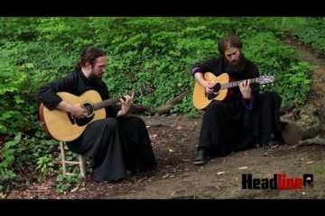 hqdefault - Watch Two Christian Monks Cover IRON MAIDEN From Tuman Monastery
