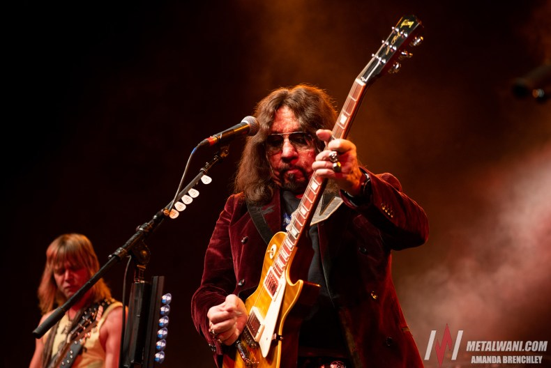 """AceFrehley 8 - Ace Frehley: """"I Heard About That New Group, Greta Van Something. Supposedly They Sound Like Zeppelin"""""""