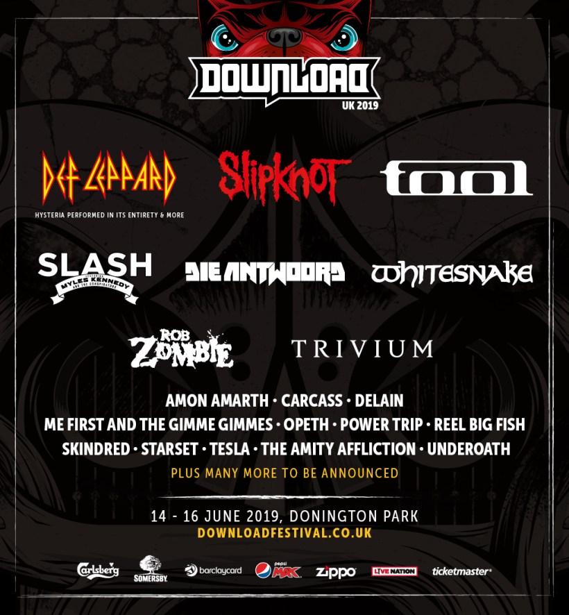 Download UK - FESTIVAL REPORT: DOWNLOAD FESTIVAL UK Announces Headliners For 2019 Edition