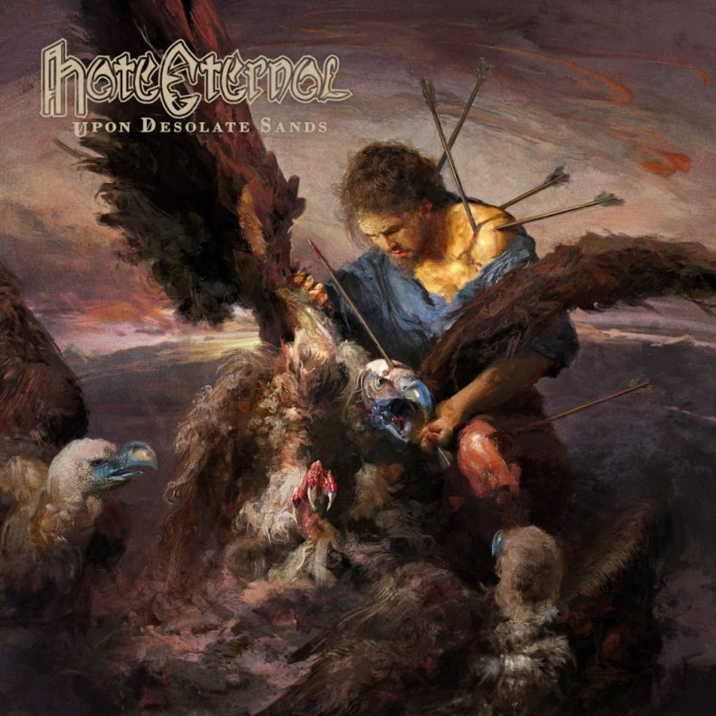 "HateEternal - REVIEW: HATE ETERNAL - ""Upon Desolate Sands"""