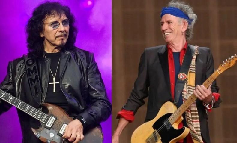 Tony Iommi and Keith Richards - TONY IOMMI Is 'Amazed' KEITH RICHARDS Is Still Alive