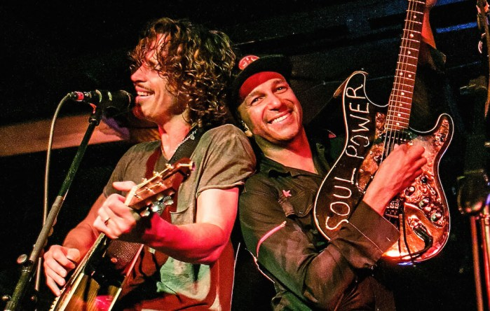 """Chris Cornell Tom Morello - Tom Morello Reveals His Final Meeting With Chris Cornell: """"He Was Completely Fulfilled & Happy"""""""