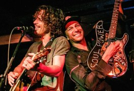"Chris Cornell Tom Morello - Tom Morello Recalls His Final Meeting With Chris Cornell: ""We Got To Rock His Awesome Rock God Self"""
