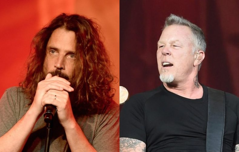 ChrisCornellJamesHetfield - METALLICA Emotionally Describe Chris Cornell As A 'Game Changer'