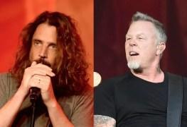 ChrisCornellJamesHetfield - METALLICA Emotionally Describe Chris Cornell As A 'Game Changer'