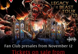 Maiden - JUST IN: IRON MAIDEN Announces 2019 'Legacy Of The Beast' North American Tour