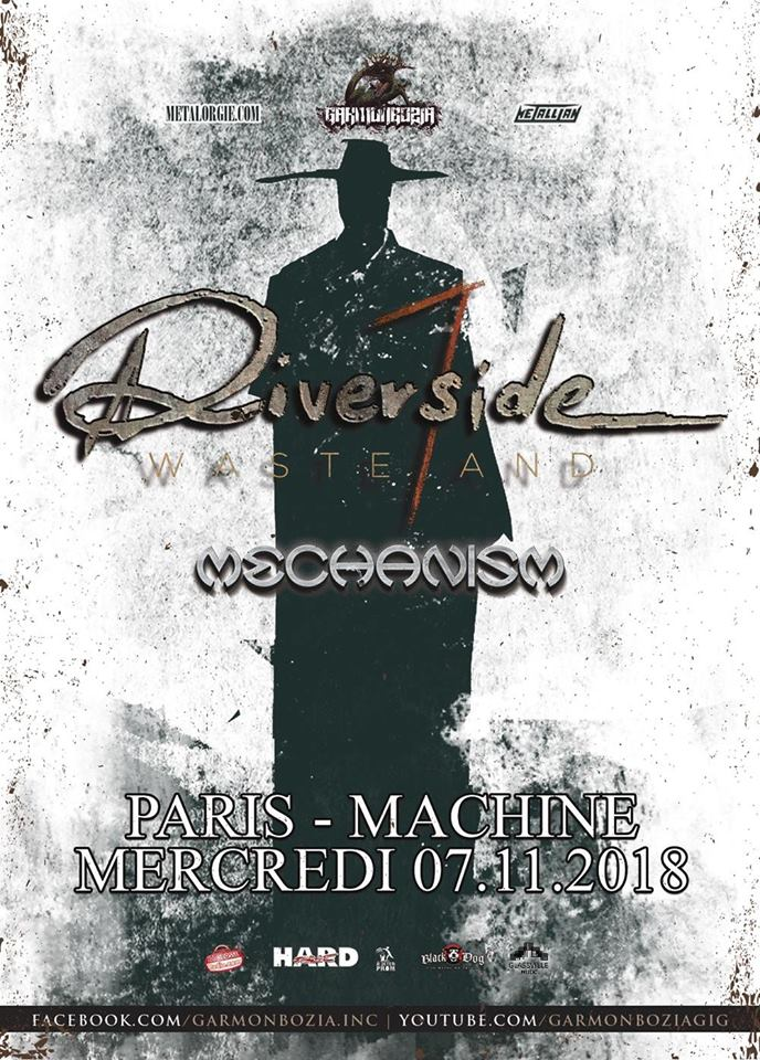Riverside - GIG REVIEW: RIVERSIDE & MECHANISM Live at La Machine du Moulin Rouge, Paris